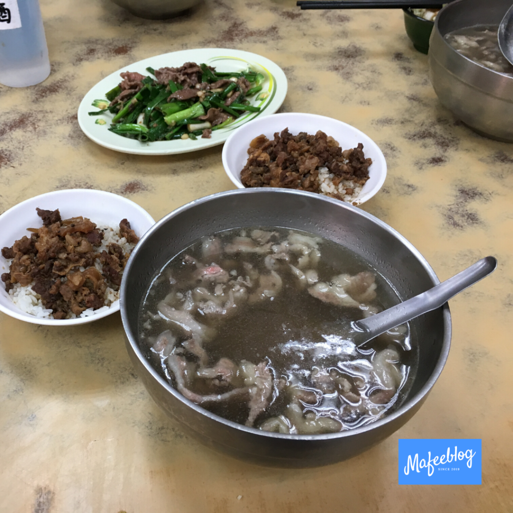Taiwanese and Tainan food and drink