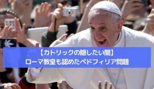 【カトリックの隠したい闇】ローマ教皇も認めたペドフィリア問題